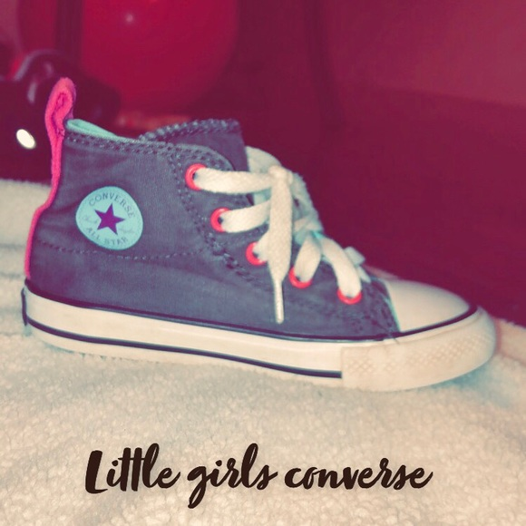 Converse Other - Little girls converse allstar